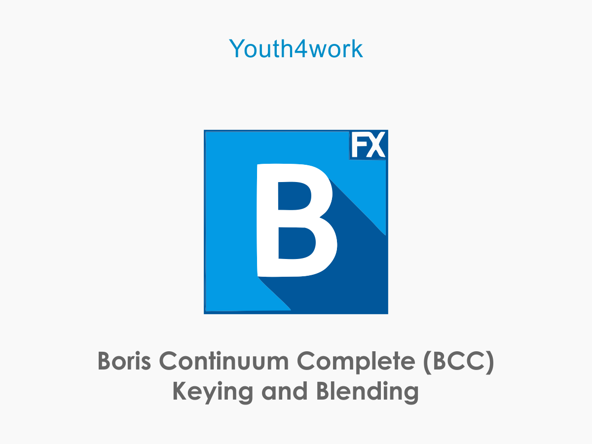 Boris Continuum Complete Keying and Blending
