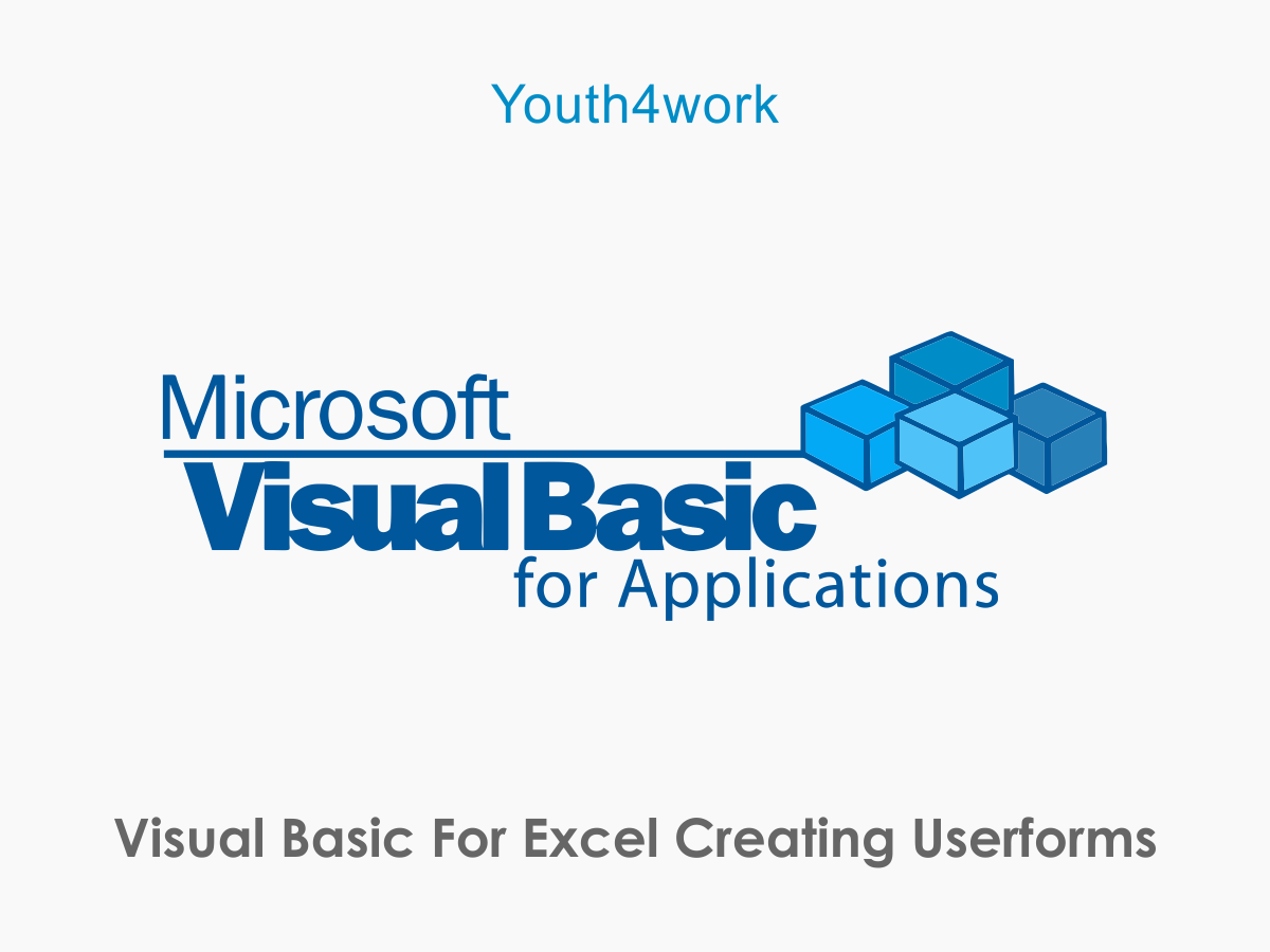 Visual Basic for Excel - Creating Userforms