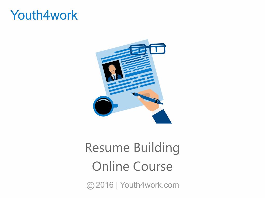 Resume Building Online Course