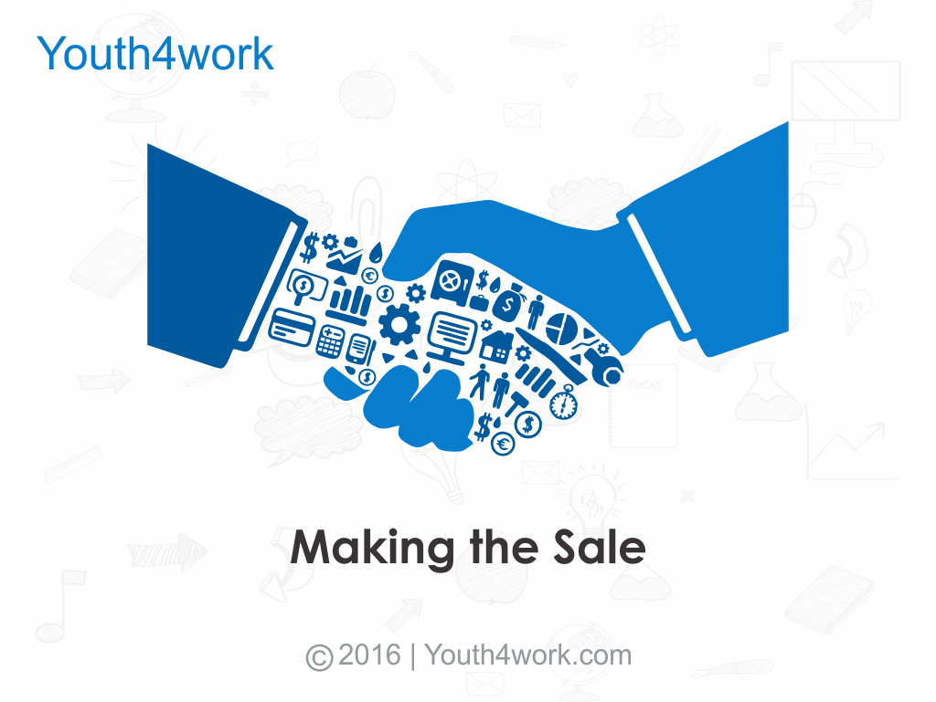 Making The Sale Online course