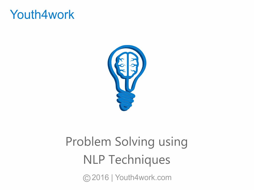 Problem Solving using NLP Techniques