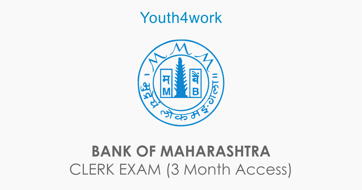 Bank of Maharashtra Clerk Exam