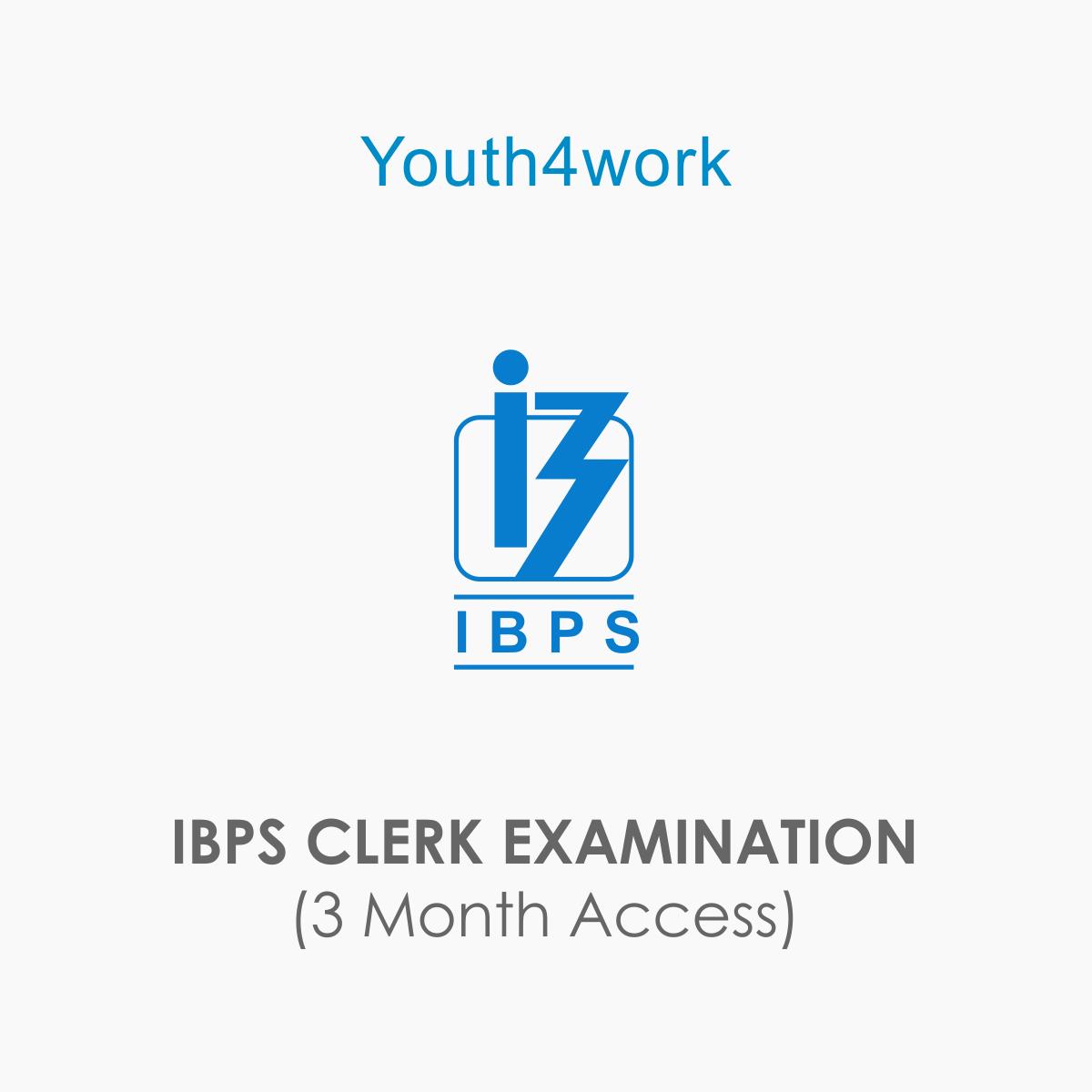 IBPS CLERK EXAMINATION