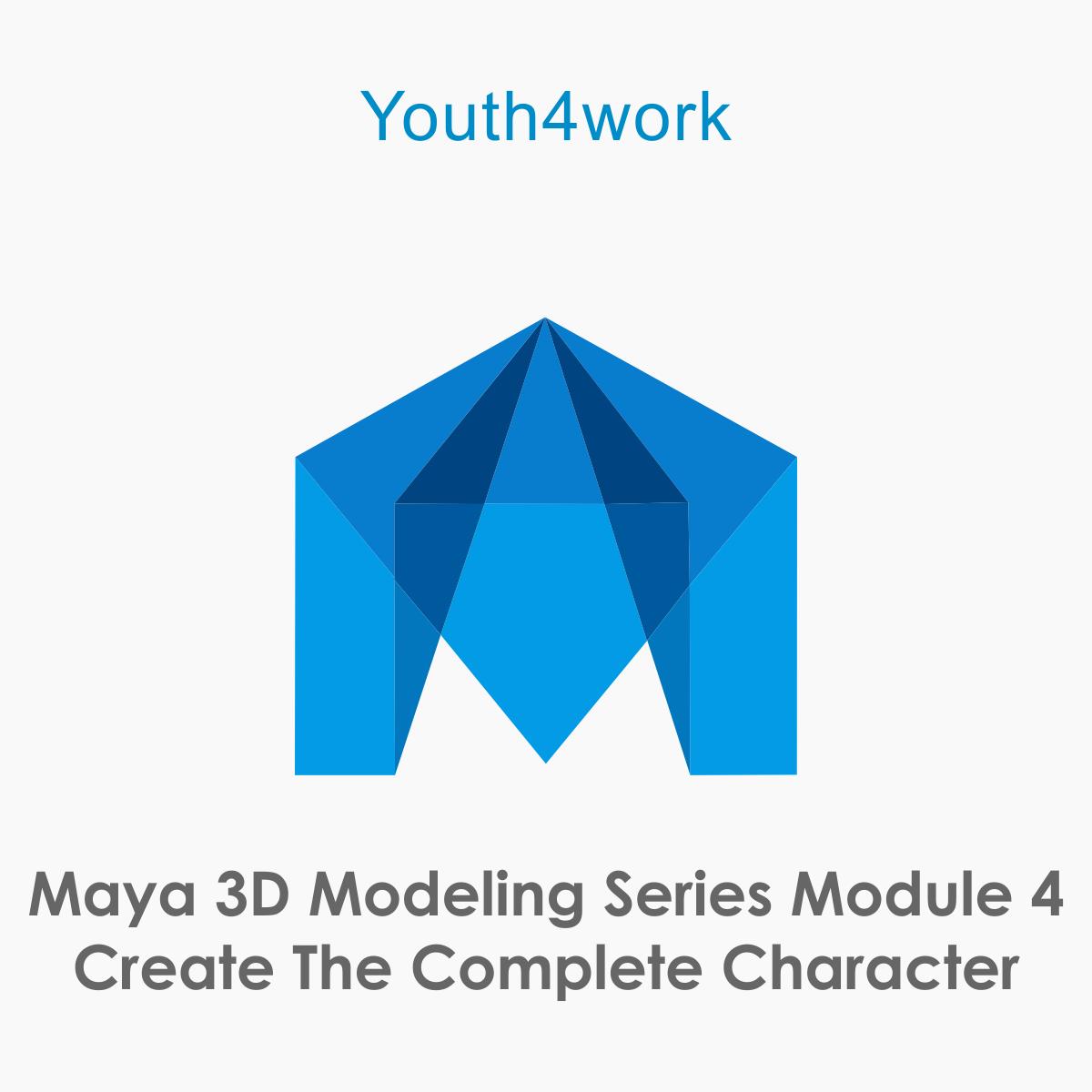 Maya 3D Modeling Series Module 4