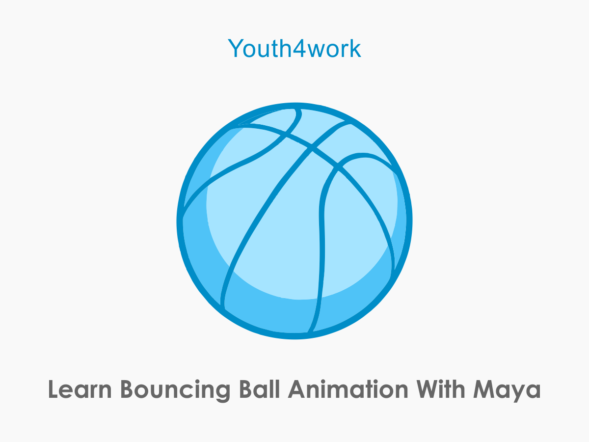 Bouncing Ball Animation With Maya