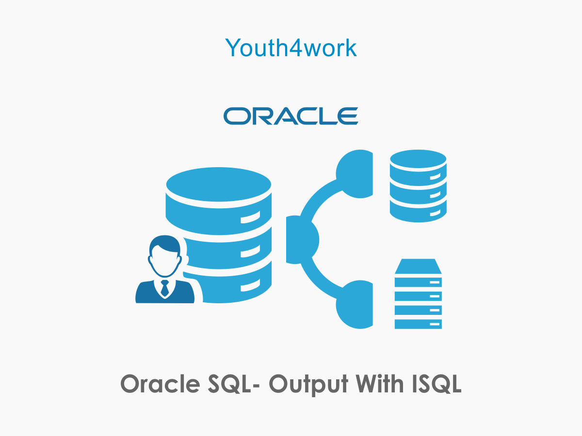 Oracle SQL- Output with iSQL