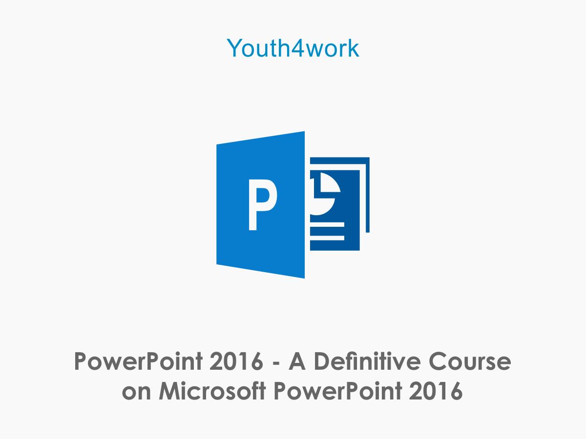 Microsoft Power Point 2016