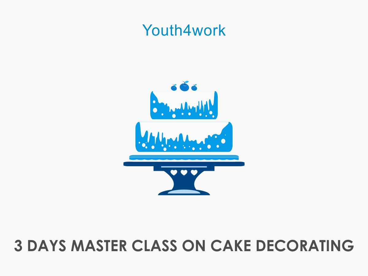 3 DAYS MASTER CLASS ON CAKE DECORATING