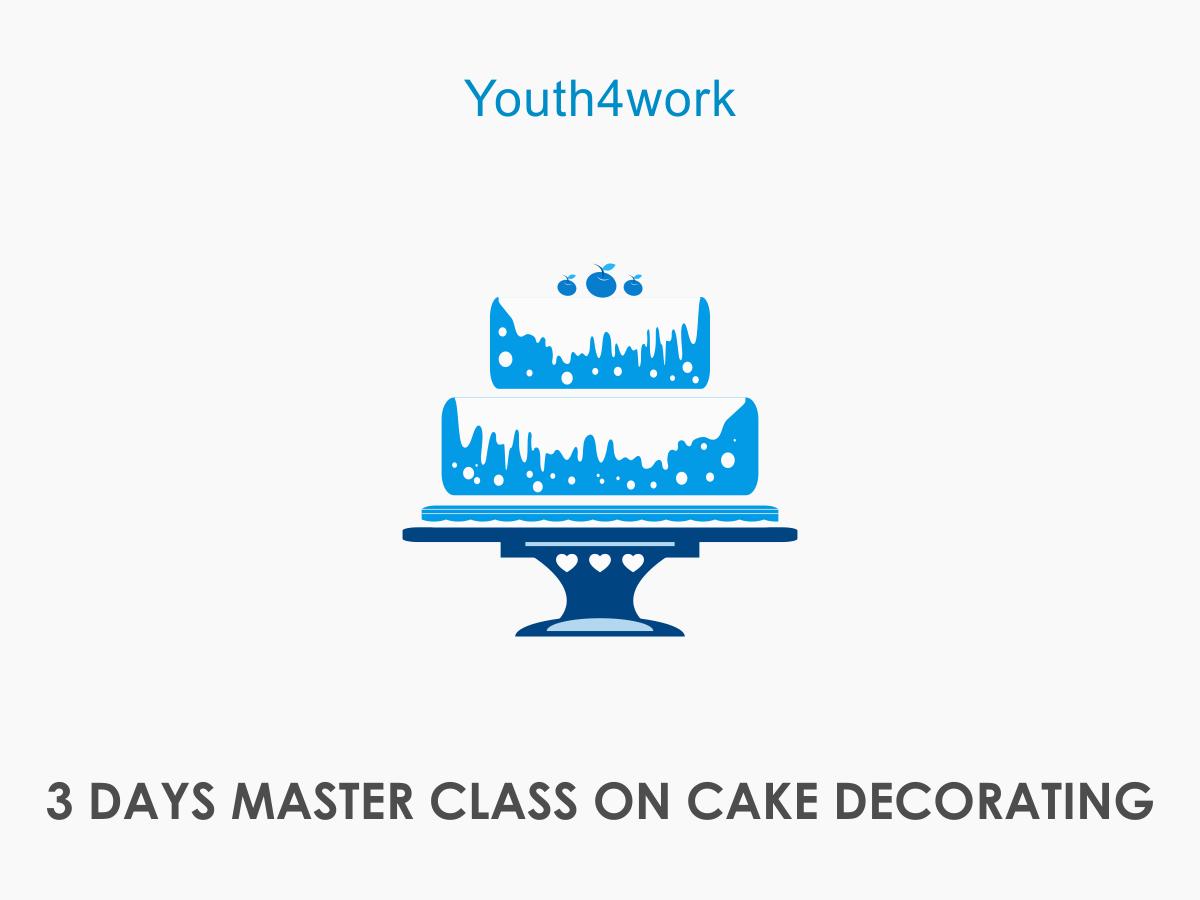 3 DAYS MASTER CLASS ON CAKE DECORATING