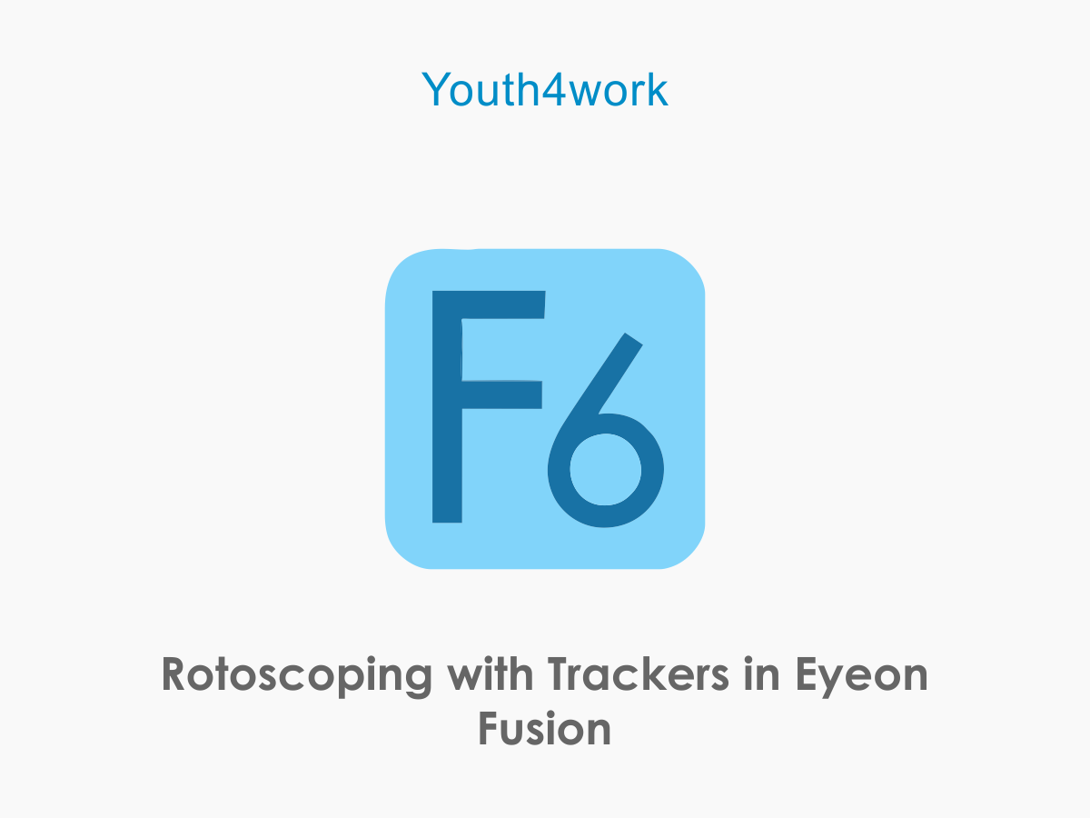 Rotoscoping with Trackers in Eyeon Fusion