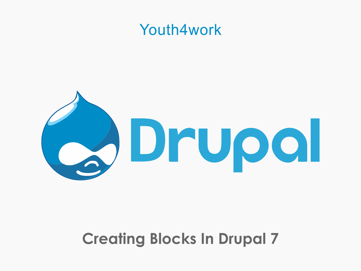 Blocks in Drupal 7