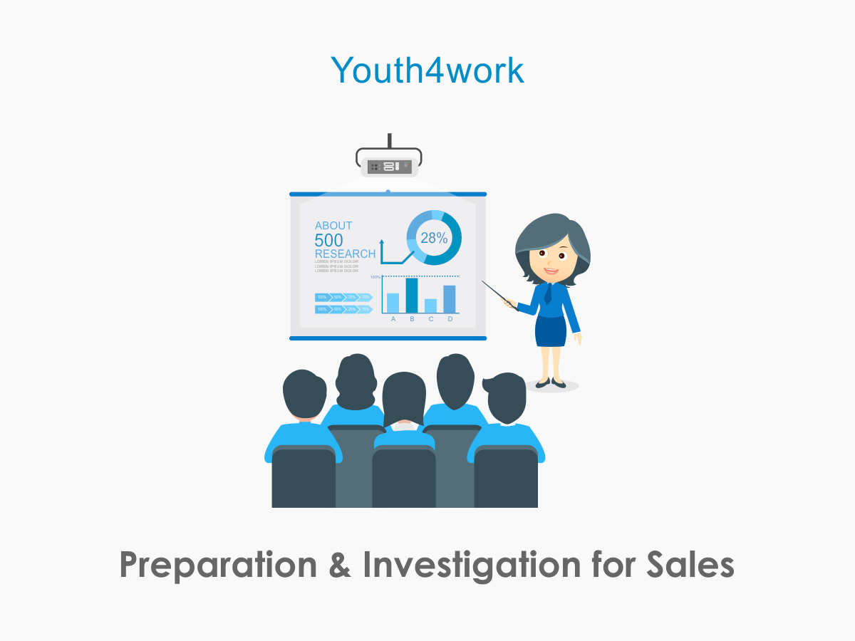 Preparation and Investigation for Sales