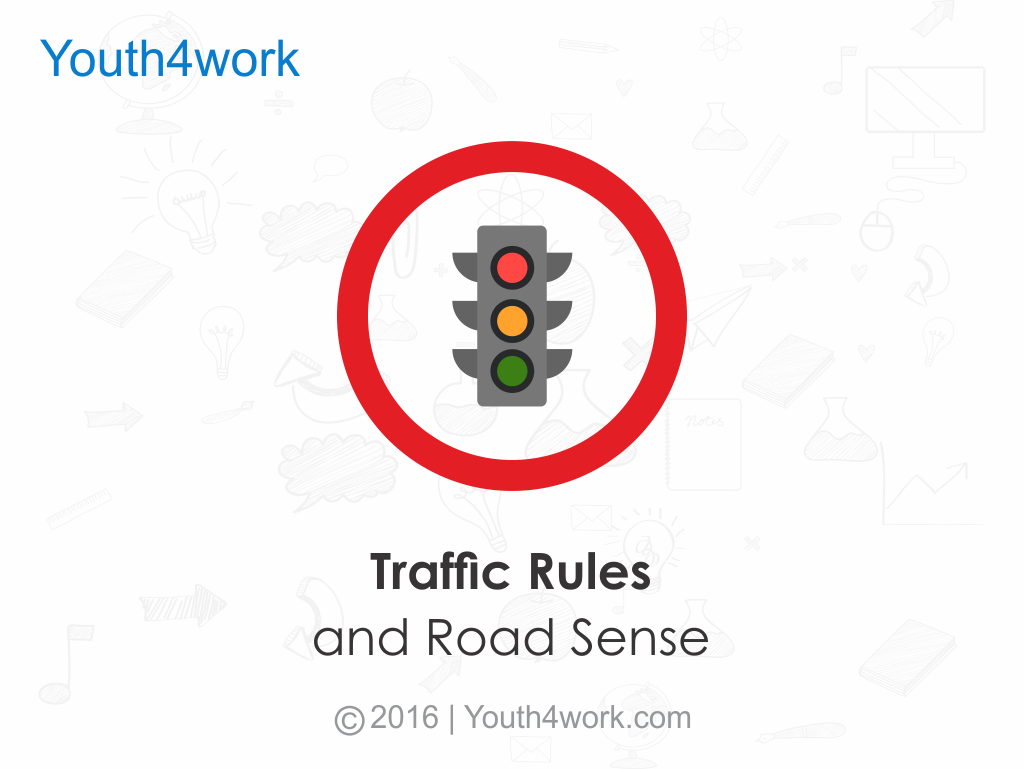 Learn Traffic Rules and Road Sense