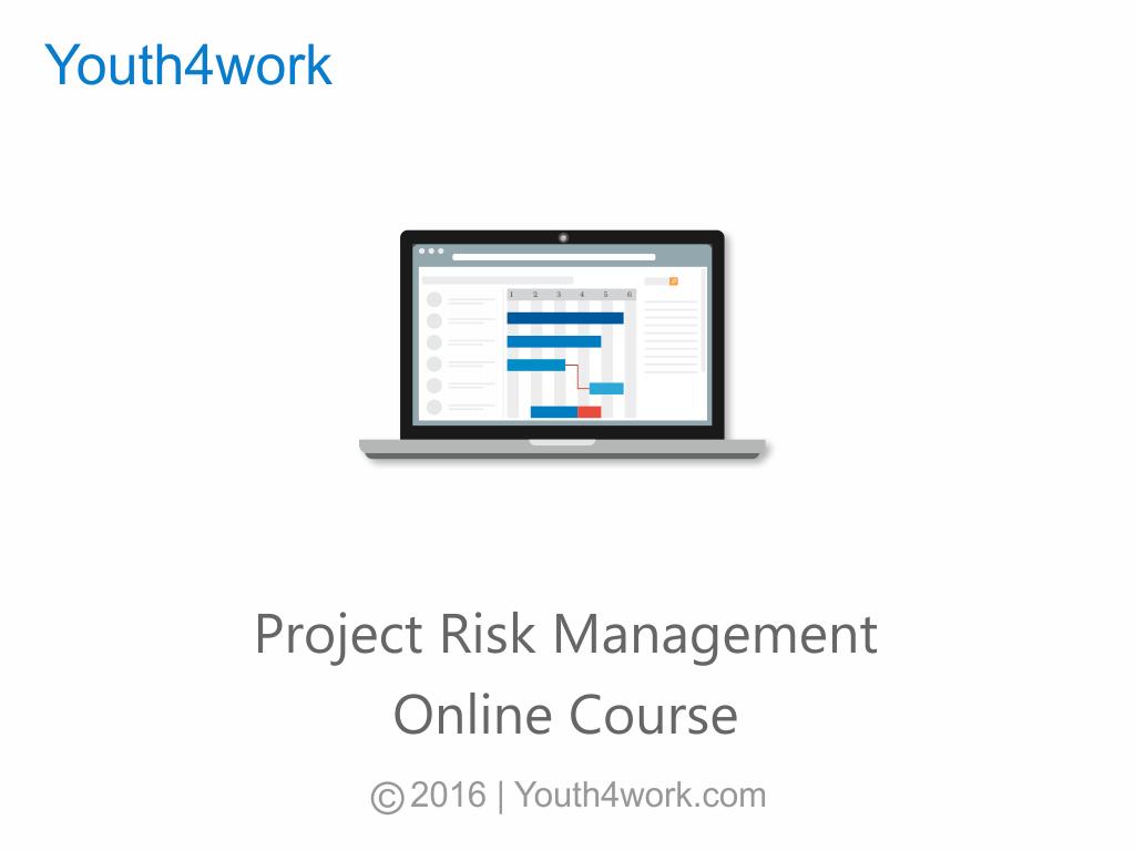 Project Risk Management Online Course