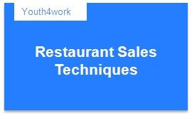 Restaurant Sales Techniques