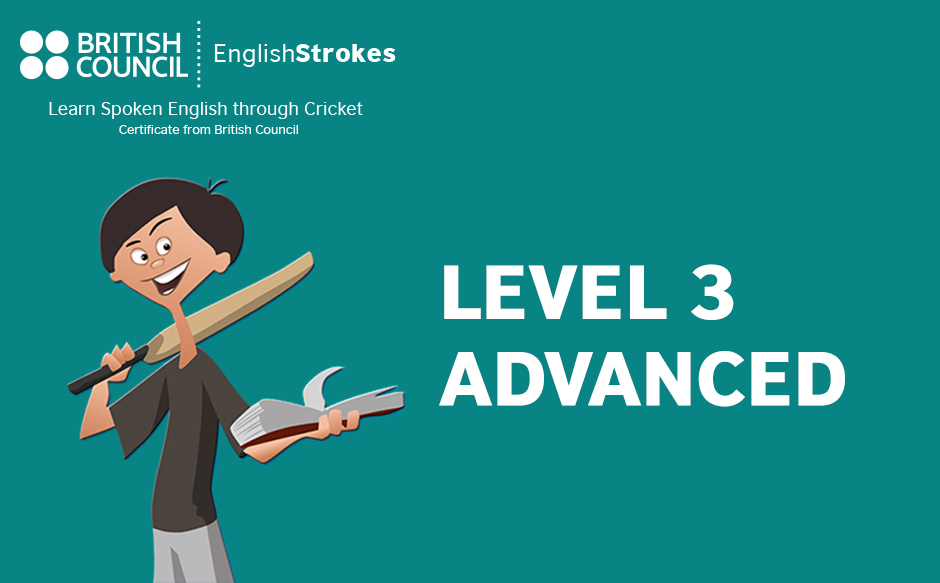 English stroke- Level 3 Advanced