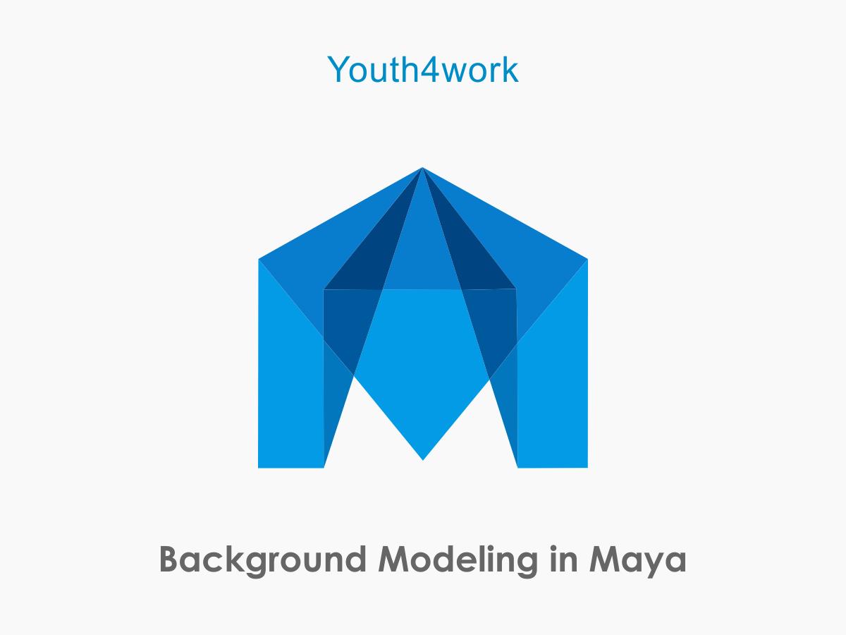 Background Modeling in Maya