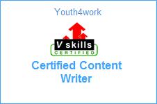 Vskills Certified Content Writer
