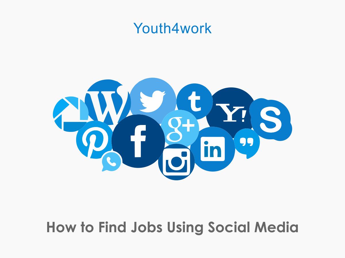 Find Jobs using Social Media