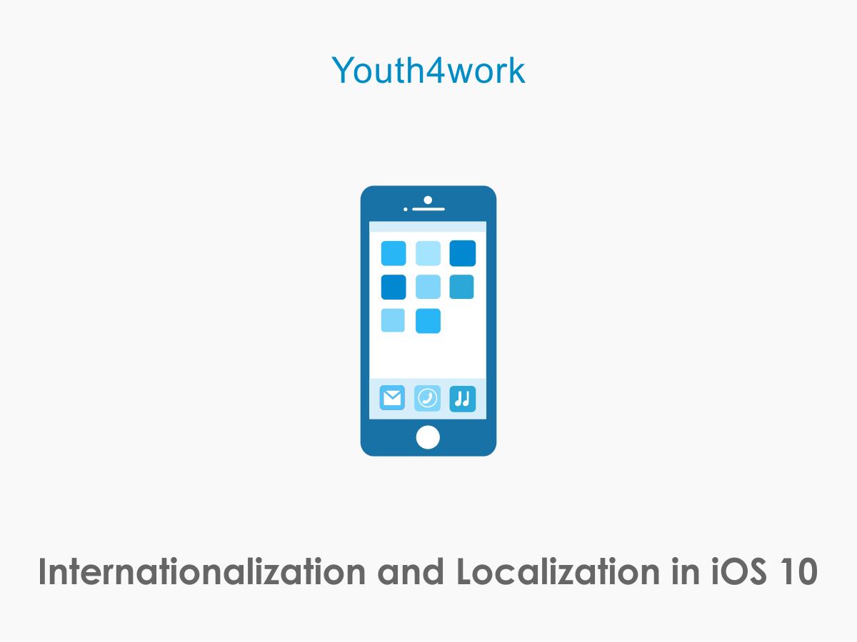 Internationalization and Localization in iOS 10