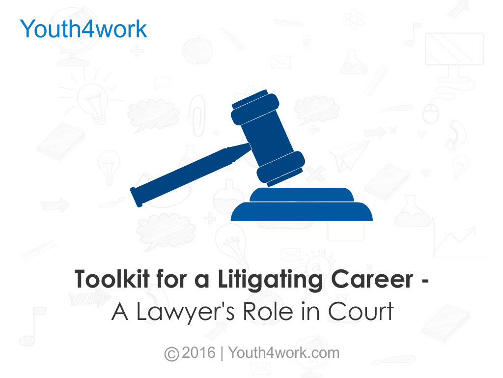 Toolkit For A Litigating Career
