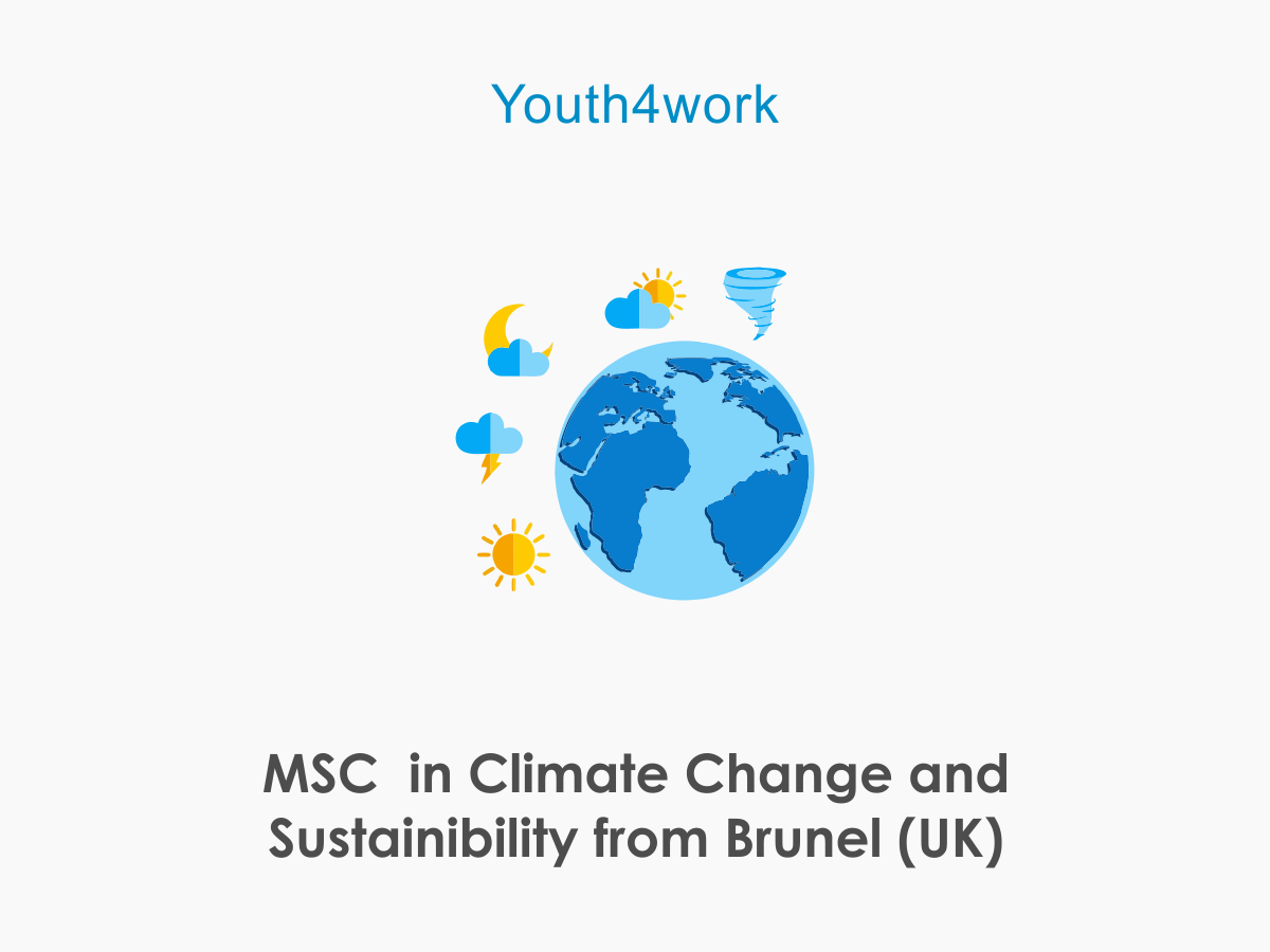 M.Sc in Climate Change and Sustainibility