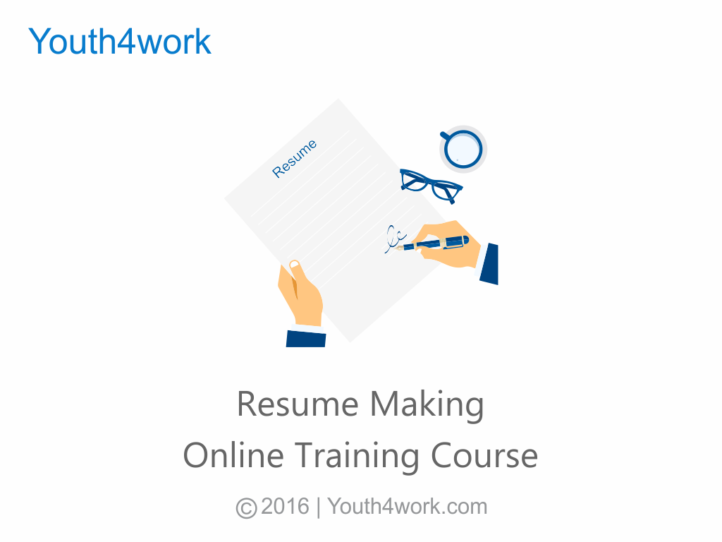 Resume Making Online Training Course