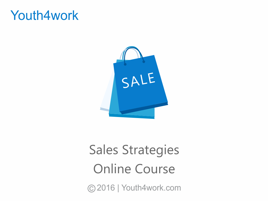 Sales Strategies Online Course