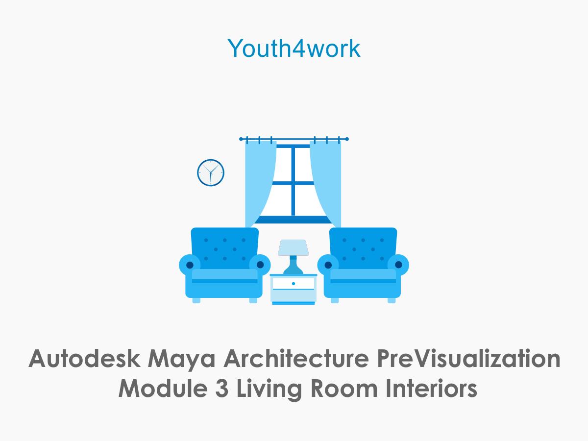 Autodesk Maya Architecture PreVisualization Module 3