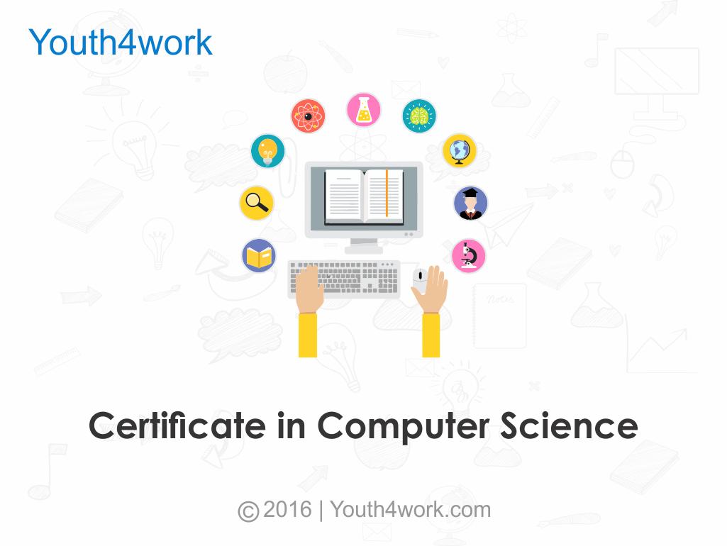 Certificate in Computer Science