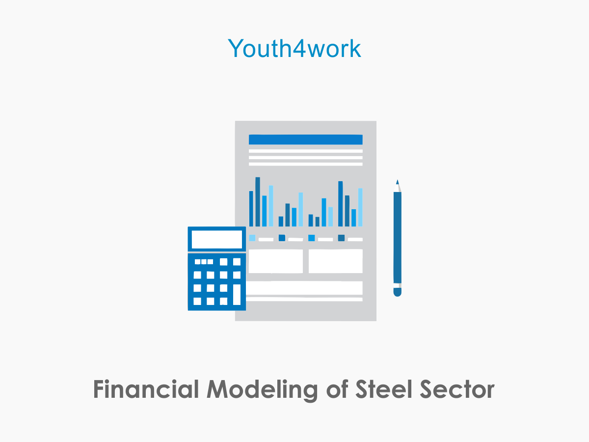 Financial Modeling of Steel Sector