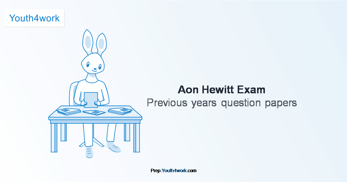 Previous Year Paper of Aon Hewitt
