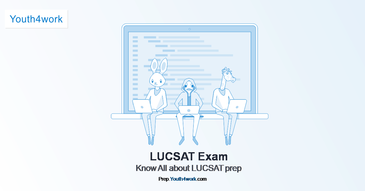 Previous Year Paper of LUCSAT 2019