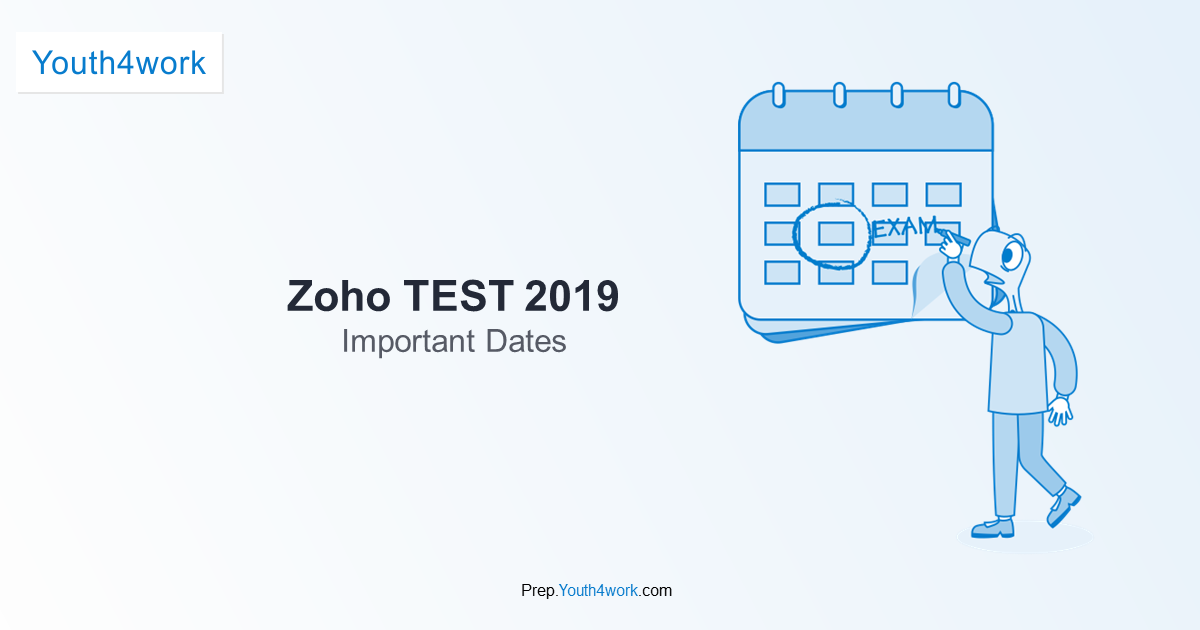 Zoho Exam Information