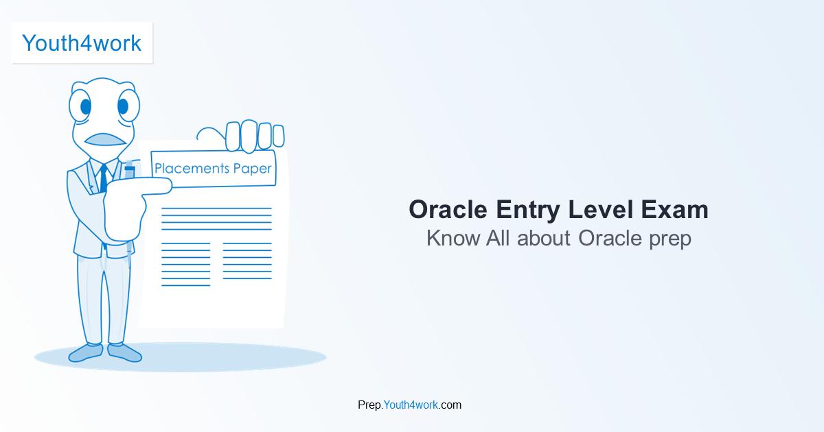 Oracle Entry Level Exam