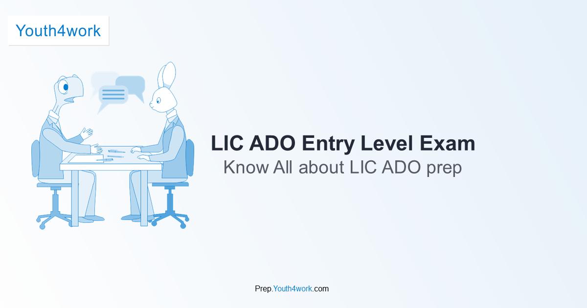 Ado previous lic pdf exam papers
