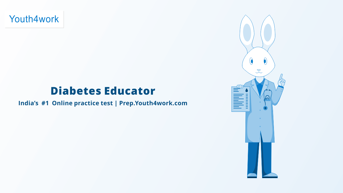 Diabetes Educator Free NSDC Mock Test