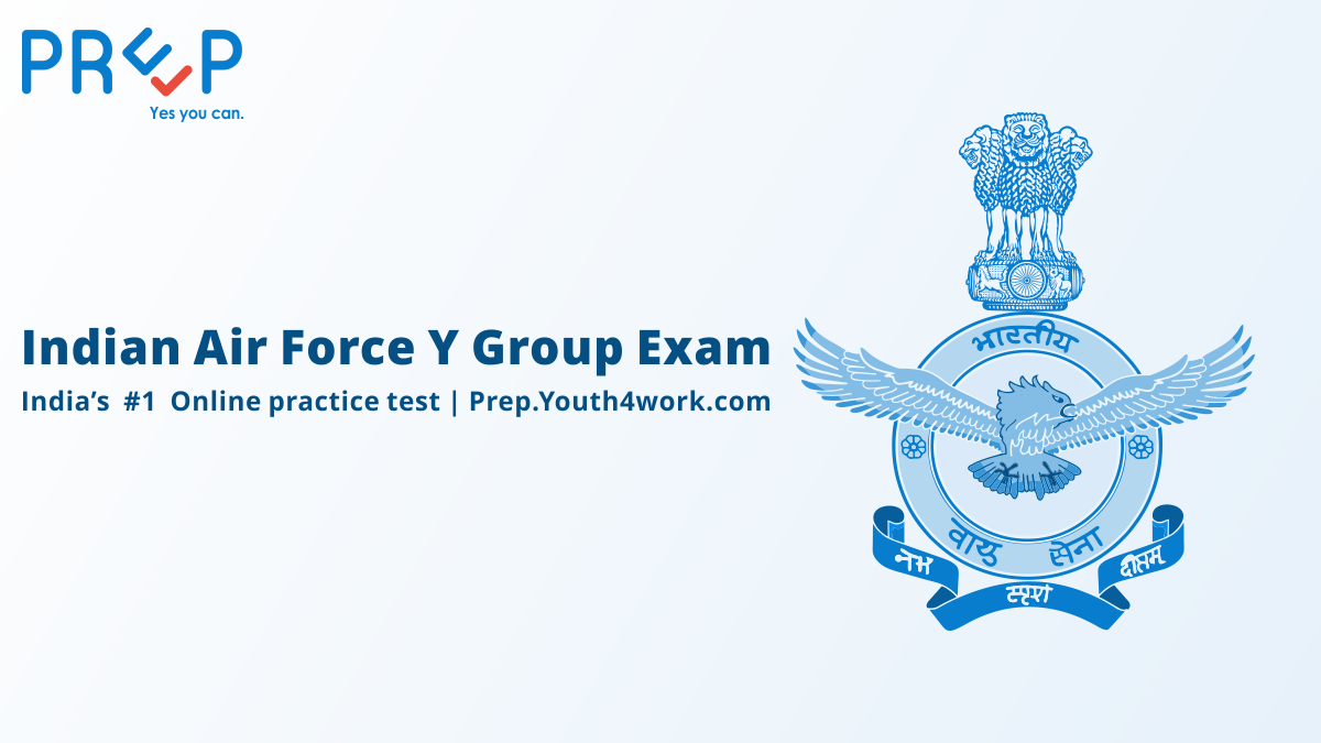 Indian Air Force Y Group Exam