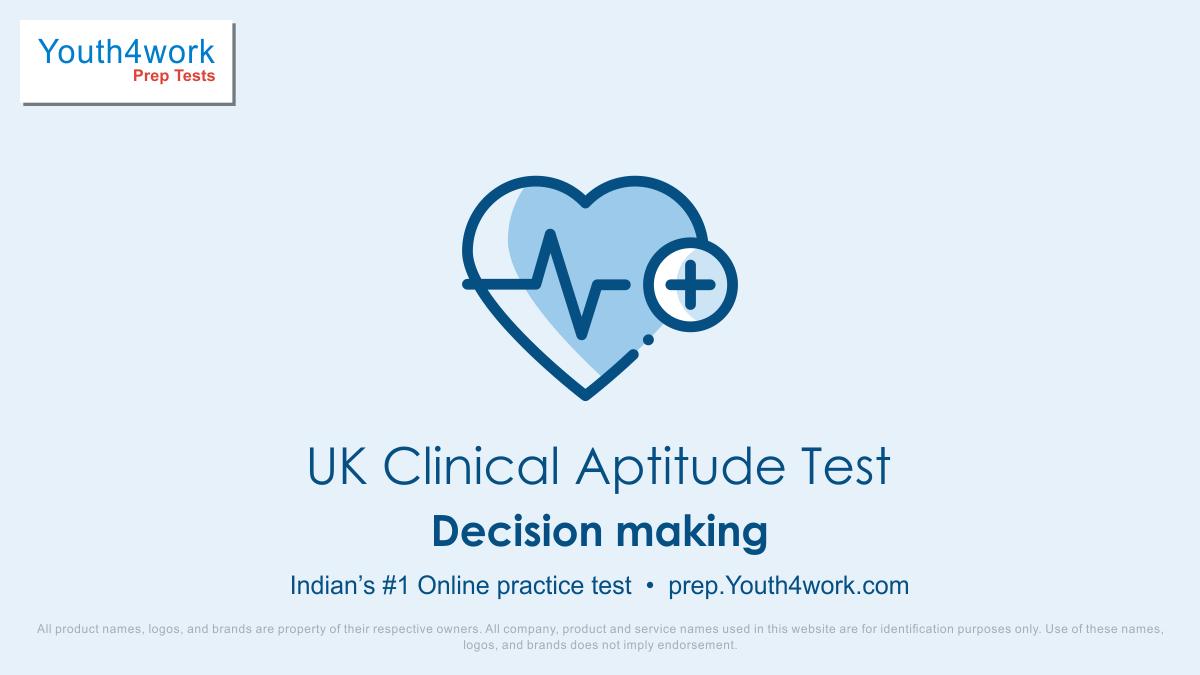 UK Clinical Aptitude Test, UK Clinical Aptitude Quiz, UK Clinical Aptitude Mock Paper, UK Clinical Aptitude Exam Date, UK Clinical Aptitude Upcoming Exam,  UK clinical aptitude test series