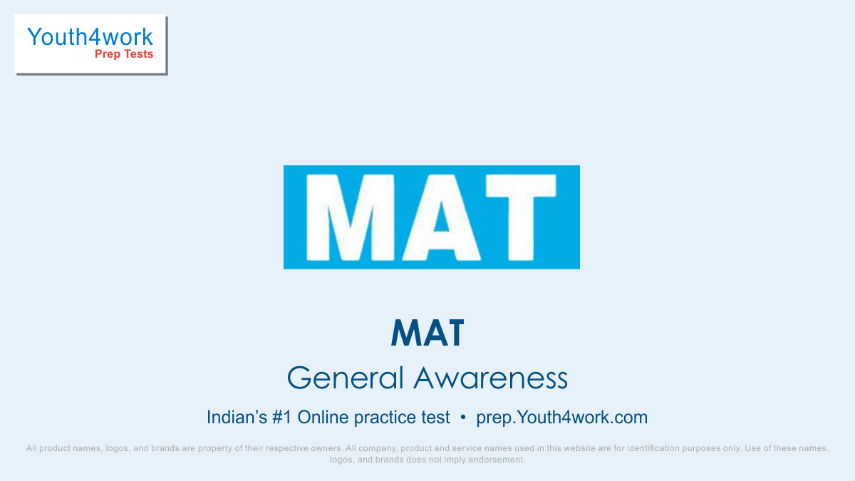 MAT, MAT Mock Test, Free Online Test, Crack MAT exam, MAT Online Preparation, Practice Papers, Free Mock Test, Exam Pattern, Best MAT Questions, MAT mock test series, sample questions, MAT preparation, MAT exam preparation, prepare for MAT exam