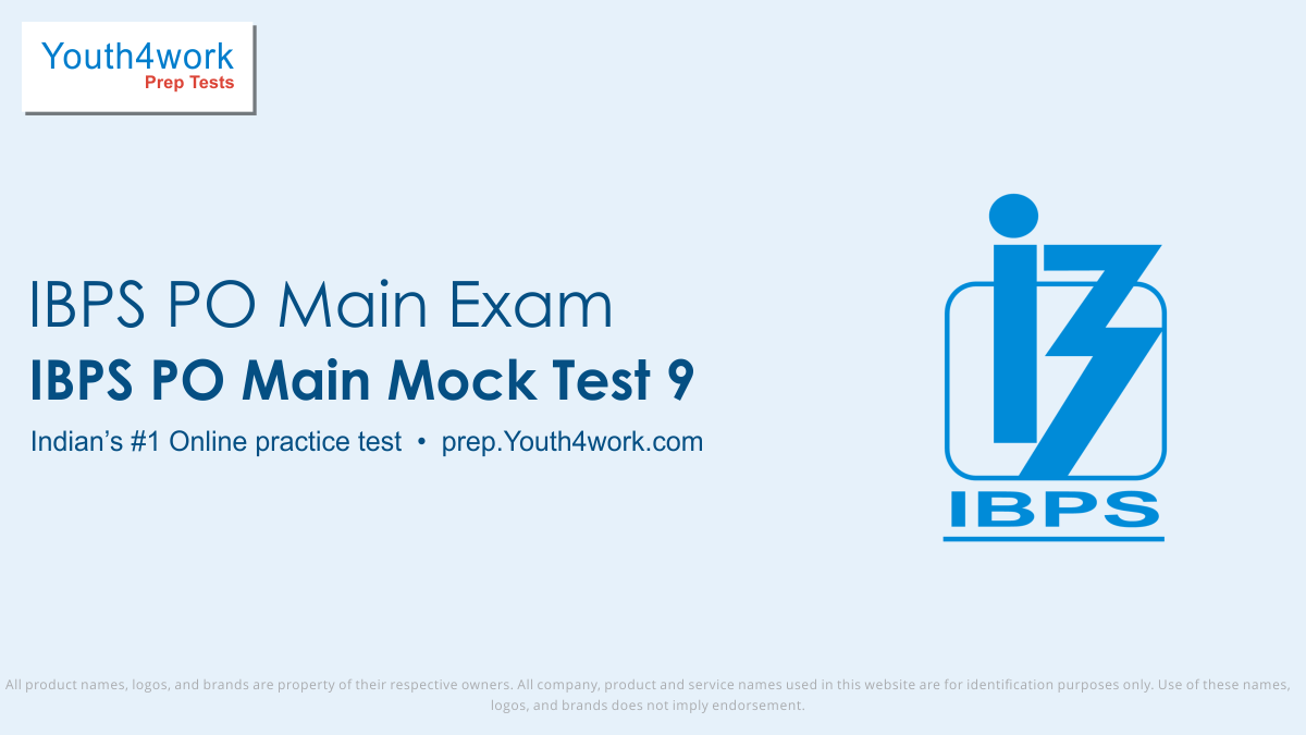 ibps po mains free mock tests, ibps po mains online test series, ibps po mains practice set, ibps po mains preparation test, online entrance exam test for ibps po mains, ibps po mains mcqs question, institute of banking personnel selection probationary officer mains test