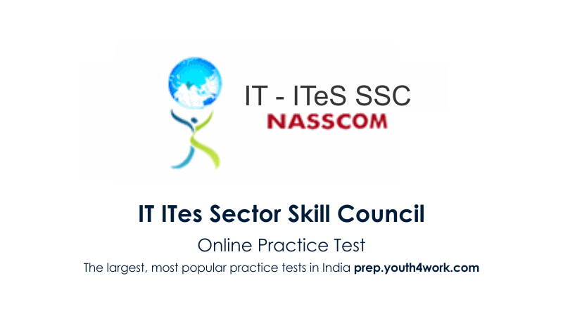 NSDC, National Skill Development Corporation, mock test, practice test, NSDC skill test, NSDC training, try NSDC Sample Papers, pmkvy, IT ITes SSC, ITES Mock test, previous year papers, modal test papers.