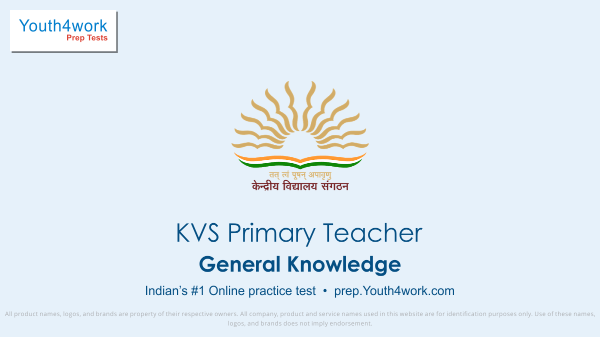KVS Recruitment, KVS Primary Teacher Mock Test Paper, Sample Papers, Important Questions, Exam Pattern, KVS PracticePaper, Solve KVS Test