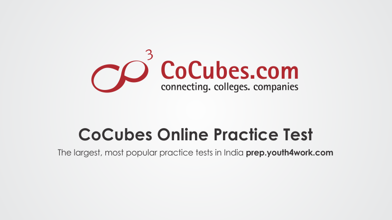 Cocubes Free Mock Test Papers