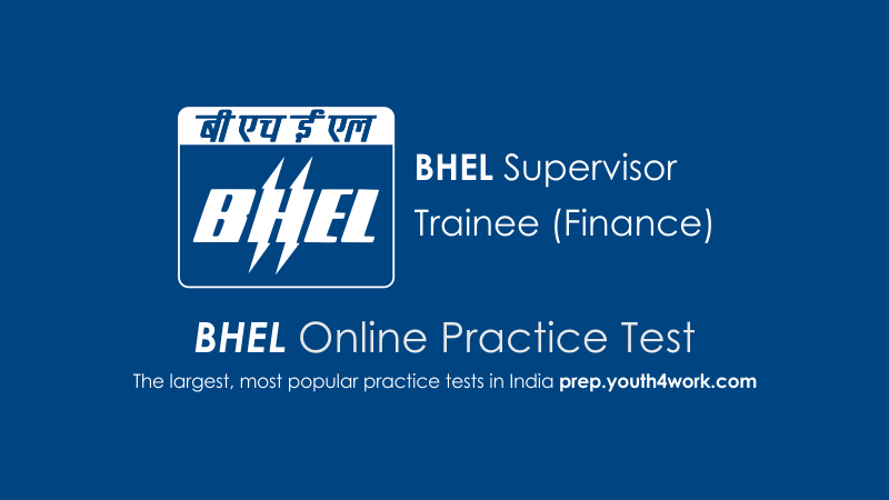 BHEL Supervisor Trainee (Finance)