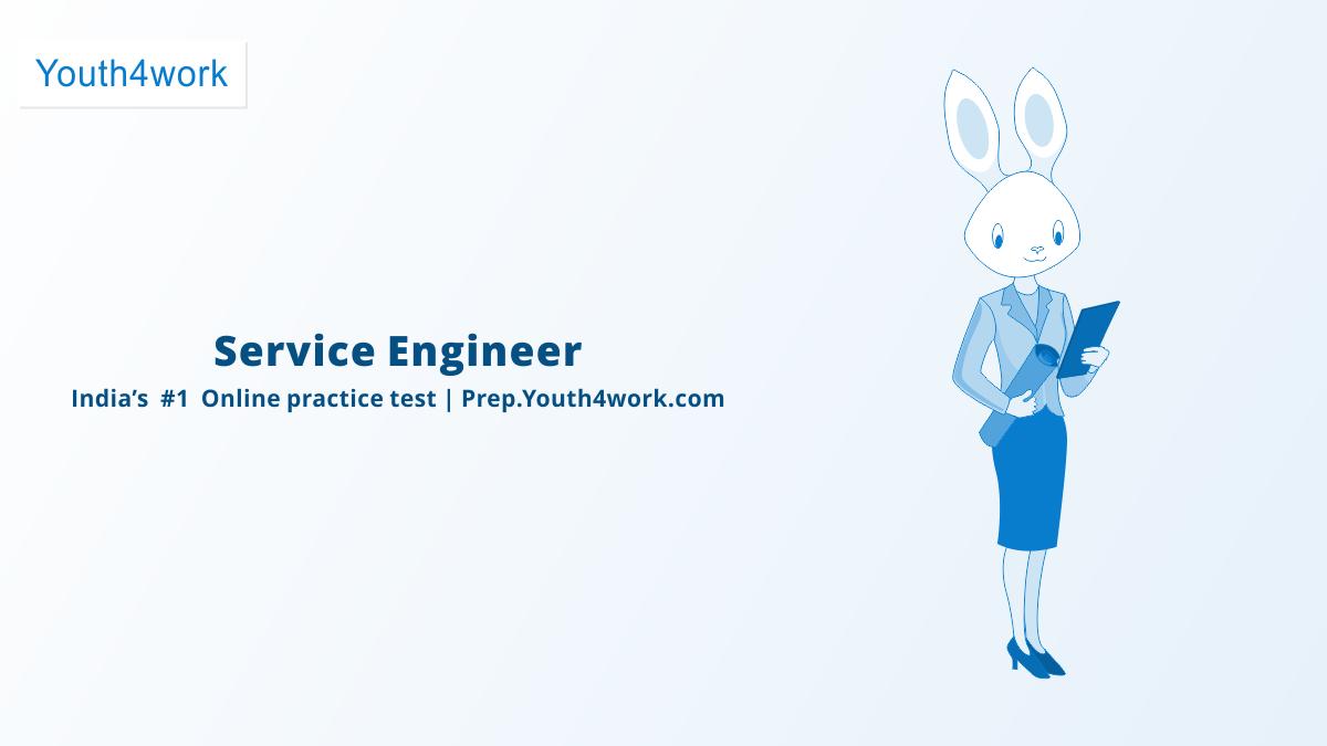 Service Engineer Free MSDE Practice Paper