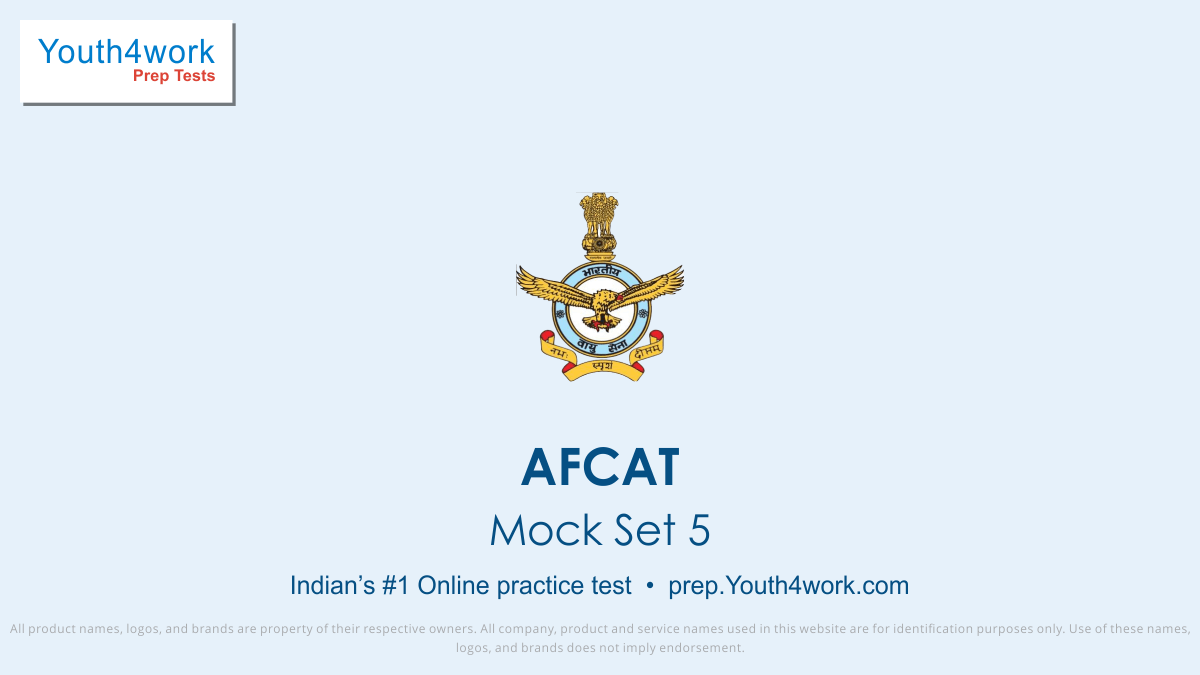 afcat free mock tests, afcat online test series, afcat practice set, afcat preparation test, online entrance exam test for afcat, afcat mcqs question, air force common admission prep test