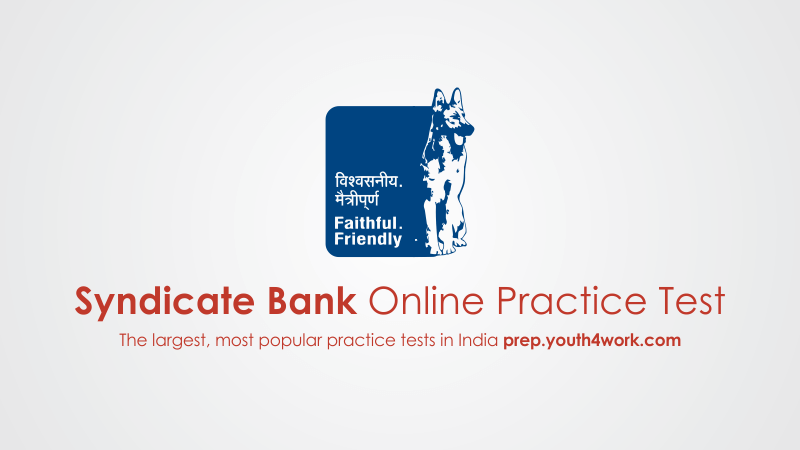 syndicate bank po mock test, syndicate Bank mock test, bank exam preparation, bank exams, syndicate bank recruitment, syndicate bank careers, syndicate bank po, bank po preparation, mock test series, online test, practice test, model test papers