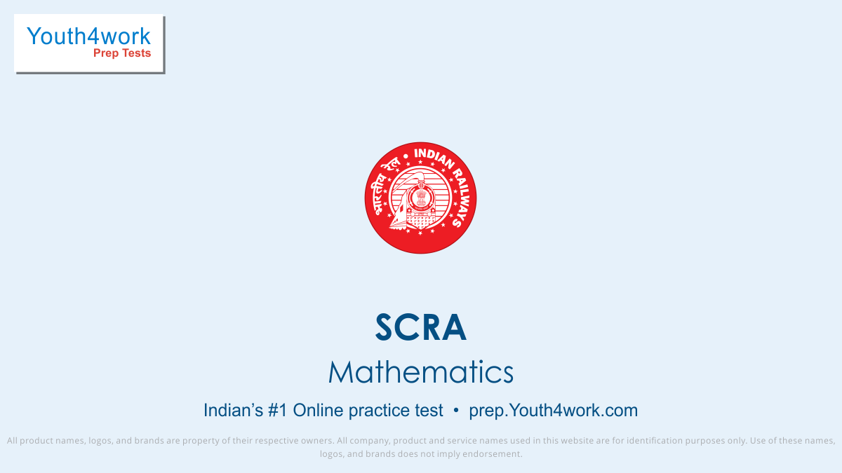 scra maths questions, scra mathematics preparation, scra online free mock test, scra examination, free mathematics online scra test, scra maths question papers, featured tests, maths questions with solutions, prepare for competitive examinations and entrance tests
