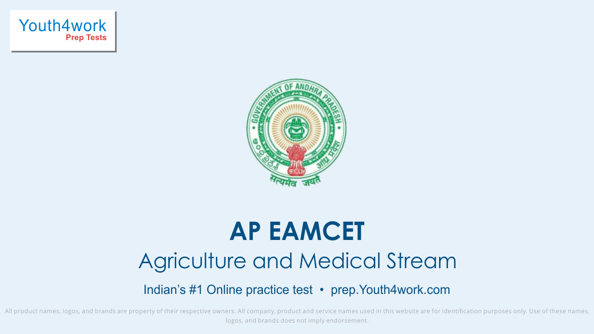 AP EAMCET Online Practice Test of Agriculture and Medical Stream